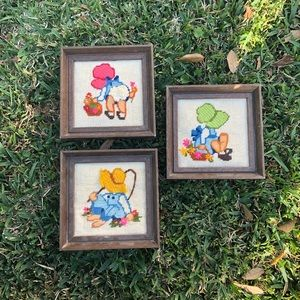 Other - Set of 3 Vintage Wall Hangings